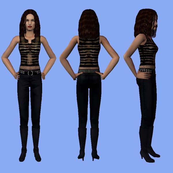 Rent Com: Sims 4 Rent: Downloads: Maureen: Over The Moon Outfit (movie